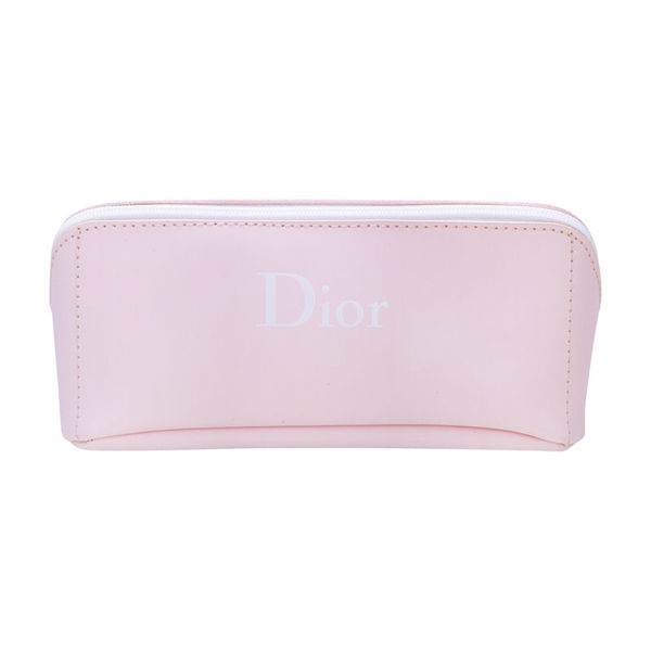 Picture of CHRISTIAN DIOR Beauty BOX soft leather zipper bag (pink) 1pc